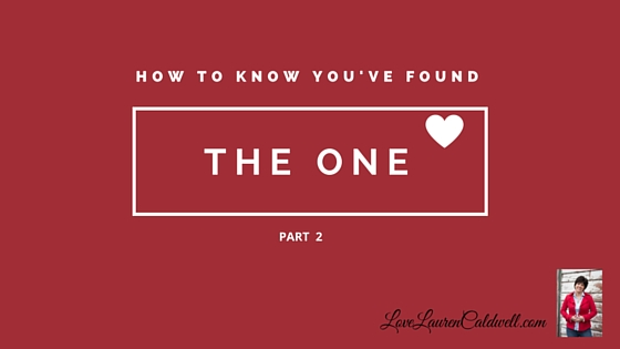 how to know when you found true love